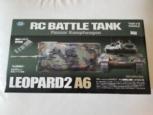 Tokyo Marui 1/24 RC Battle Tank Leopard 2A6