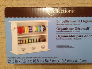 Embellishment and ribbon organizer