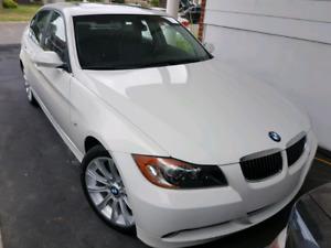 BMW335i Biturbo.2008 blanc