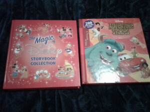 2 Hardcover Disney collection books