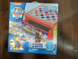 Brand new Paw Patrol Wooden 7 game house