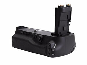 Battery Power Pack Grip Fr Canon 7DMKII 5D III II 6D 60D T6i T5