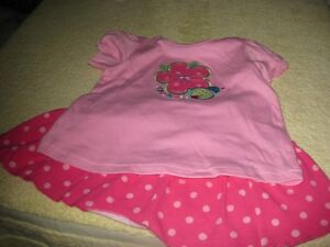 NEW size 18 to 24 months skirt and top