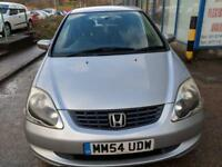 Honda Civic 1.6i VTEC SE 5 DOOR - 2004 54-REG - FULL 12 MONTHS MOT