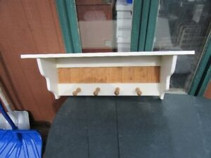 WALL SHELVES - SOLID WOOD (4 ITEMS)