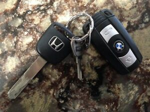 lost key are honda, bmw Kitchener / Waterloo Kitchener Area image 1