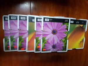 Cadres vitrés pour photos 8 pouces par 10.        1.00$ chacun