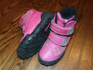 Geox Girls Winter Boots Size 26 (9.5)