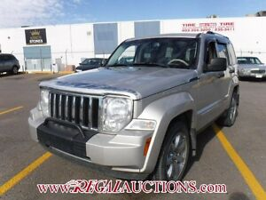 2008 JEEP LIBERTY LIMITED 4D UTILITY 4WD 3.7L LIMITED