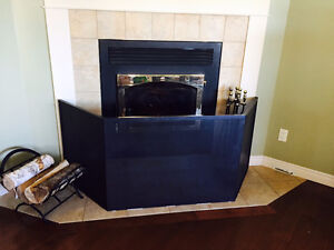 Fireplace fencing / screen