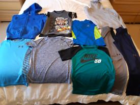 Boys sports clothes bundle - age 9-10