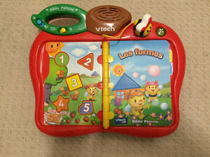 Vtech Touch & Teach Busy Books in FRENCH