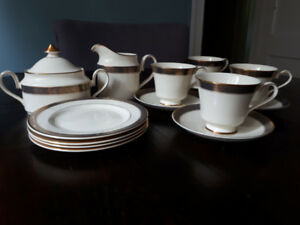 Minton Tea Set - bone china made in England