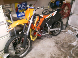 2003 ktm 125 project new pics added