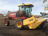 2008 New Holland H8080 Windrower!!