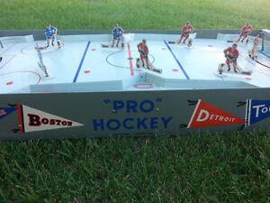 Rare Tabletop Hockey Game Montreal VS All Stars 1950's Pro Game