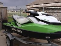 2013 seadoo 130hp. Only 5 hours on it