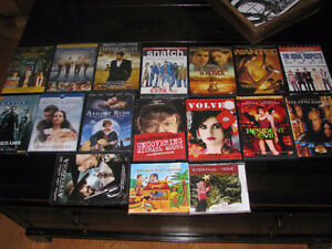 DVDs - Matrix, The Usual Suspects, Resident Evil
