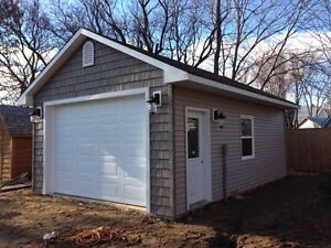 **** Garage, Shed, Deck ****