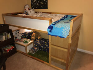 TWINS or small space - 2 Loft Beds w Mattresses