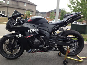 2008 CBR 600RR for sale willing to trade for nice sea doo