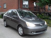 2003 Toyota Echo AUTOMATIQUE AIR/C 1.5L 4CYL PROPRE AIR/C