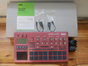 Perfect condition korg electribe 2 sampler with box!