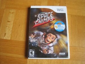 Jeu Wii Games - Space chimps