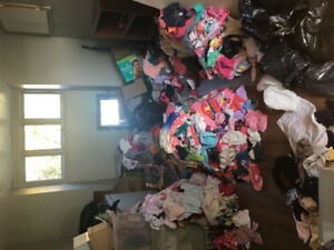 Gigantic load of girls clothing - newborn to 2T