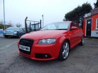 2006 Audi A3 2.0 TDi Quattro S line 5dr 2 keys,12 months mot,Warranty,Px welc...