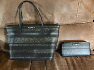 Authentic Kate Spade purse and matching wallet