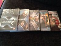 Set of X-Men DVDs