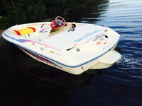 JET BOAT SEA RAYDER 90 HP 14 ft