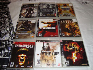 PLAYSTATION 3 PS3 GAMES ALL IN EXCELLENT CONDITION