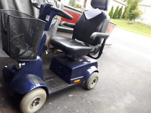 Gently used Fortress 1700, 4 wheeled scooter!