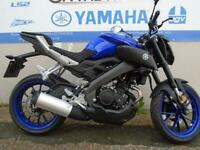 2017 YAMAHA MT 125 ABS, YAMAHA BLUE, BRAND NEW! * 0% FINANCE*
