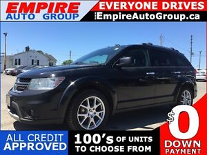 2014 DODGE JOURNEY RT * AWD * LEATHER * BLUETOOTH * HEATED SEATS