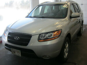 2008 Hyundai Santa Fe Gray cloth SUV, Crossover