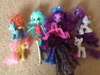 Equestrian Girls and My Little Ponies