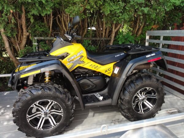 2011 Can-Am Outlander XXCR