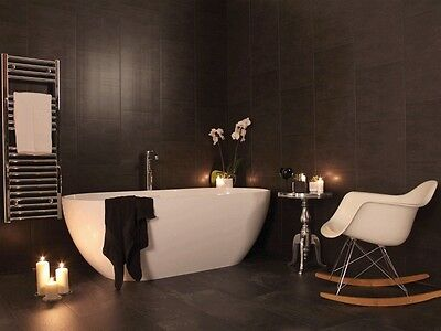 3 Swish Marbrex Anthracite Large Tile Effect Shower PVC Cladding Panels