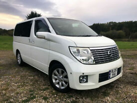 FRESH IMPORT 2005 NISSAN ELGRAND XL 3.5 V6 AUTO BUSINESS EDITION SUNROOF,LEATHER
