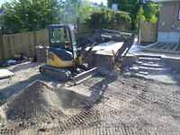 SKID STEER AND EXCAVATOR WITH OPERATOR FOR HIRE