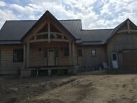 Johnson log home restorations