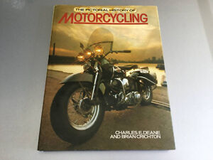 Pictorial History Motorcycling BMW CZ Indian Rudge BSA Vincent