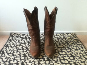 Ariat Genuine Leather Cowboy Boots