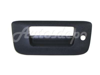 TAILGATE HANDLE BEZEL For CHEVY SILVERADO NEW STYLE 2007-2013 with Keyhole
