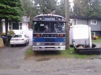 For Sale Awesome 1989 Blue Bird Party Bus!
