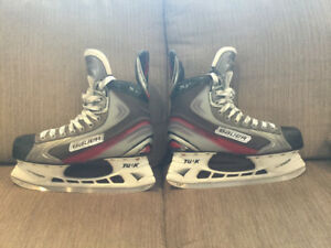 BAUER X6.0 senior skates - size 8.5 Men's