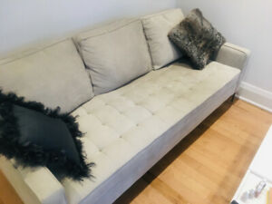 Light Grey Structube Couch; ~2 years old